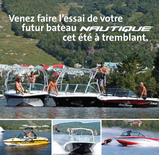 Boat rental Tremblant